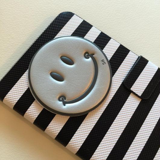 【iPhone以外】手帳型ニコちゃんスマホケース