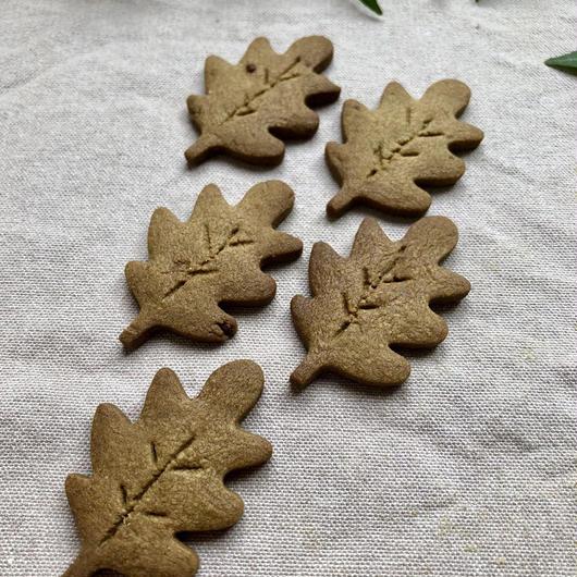ほうじ茶のクッキー