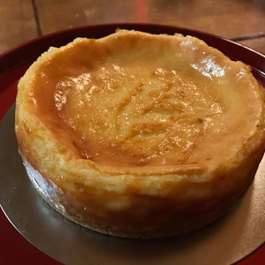 酒粕のチーズケーキ