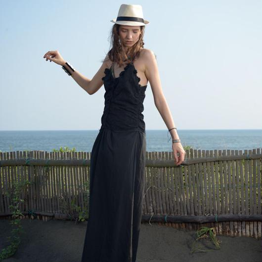 Cottonカットワークレースキャミドレス#1723029