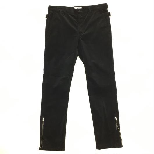 ANTHOLOGIE  /  BONDAGE PANT  -  CORDUROY  BLACK