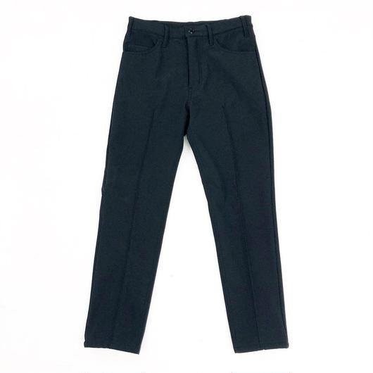 ANTHOLOGIE REPLICA  /  CENTER PLEATED PANT - MICRO FLEECE - BLACK