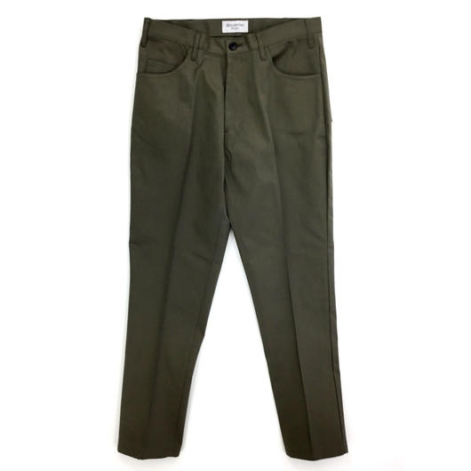 ANTHOLOGIE REPLICA  /  CENTER PLEATED PANT - COTTON TWILL