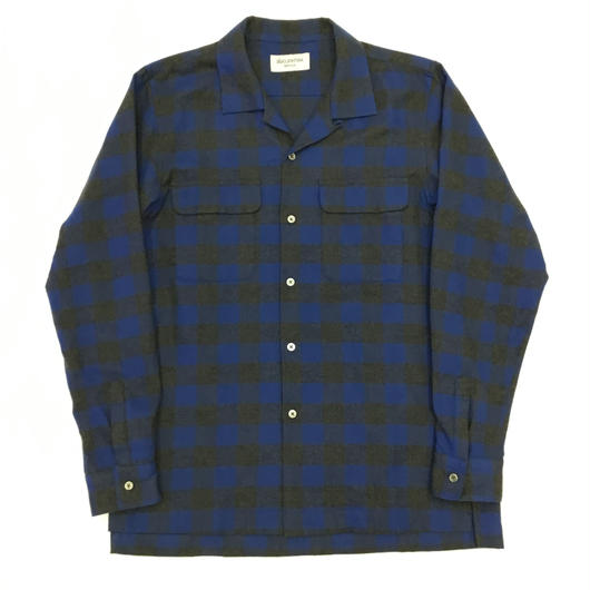 ANTHOLOGIE REPLICA  /  TEIBAN SHIRT3 -  BLUE CHECK
