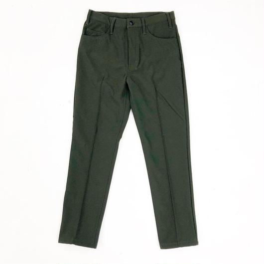 ANTHOLOGIE REPLICA  /  CENTER PLEATED PANT - MICRO FLEECE  - OLIVE