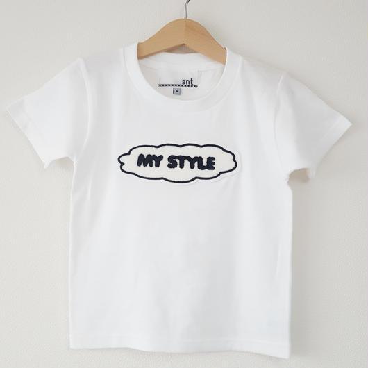 MY STYLE Tシャツ(こども)WHITE
