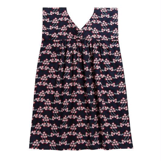 袖なしワンピース 山桜