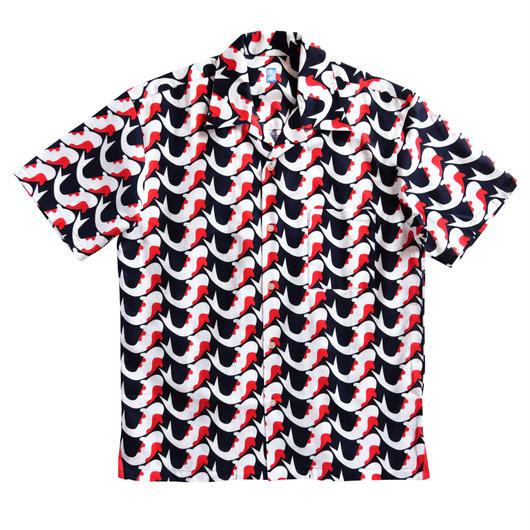 メンズ半袖シャツ 錦鯉