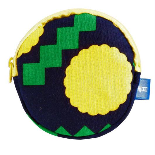 満月コインケース  たんぽぽ
