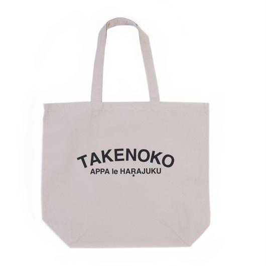 T▲KENOKO Arc Logo Tote Bag