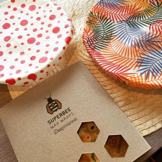 Super Bee Wax Wraps ビーグナーセット F