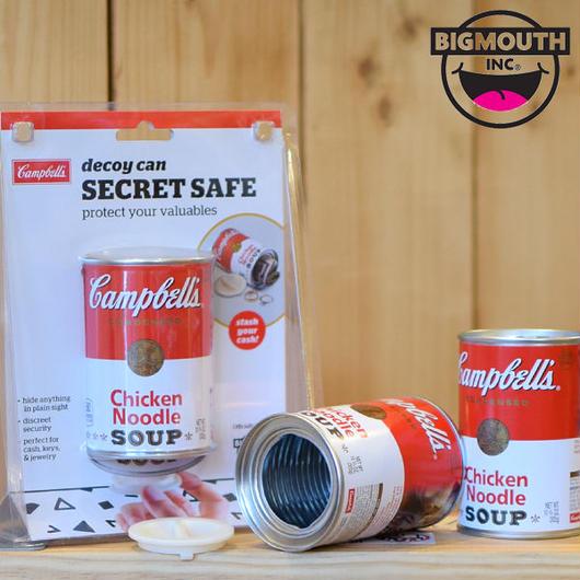 BIGMOUTH INC DECOY CAN SECRET SAFE/ビッグマウス キャンベルスープ 隠し缶