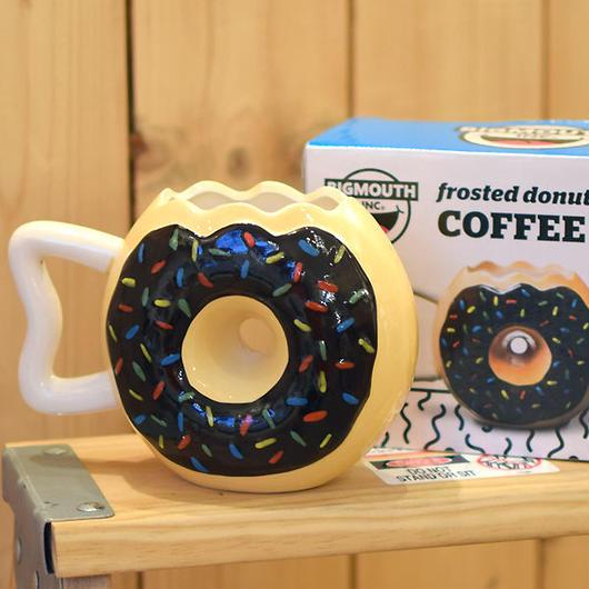 BIGMOUTH INC DONUTS COFFEE MUG/ビッグマウス ドーナッツ マグカップ