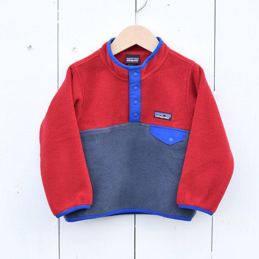 PATAGONIA KIDS BABY LIGHTWEIGHT SYNCHILLA SNAP-T PULLOVER