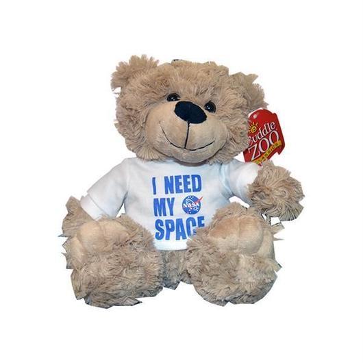 NASA OFFICIAL I NEED MY SPACE BEAR TAN  / NASA アメリカ航空宇宙局 オフィシャルグッズ ベア ぬいぐるみ