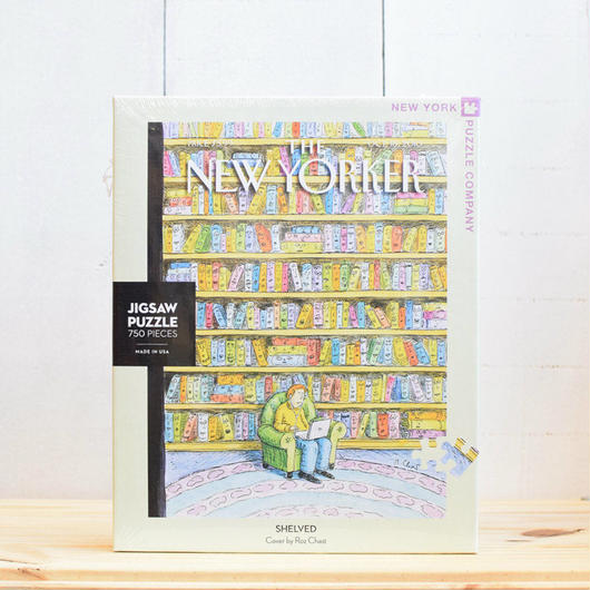 "New York Puzzle Company The New Yorker ""Shelved""750pc/ザ・ニューヨーカー ジグソーパズル 750ピース"
