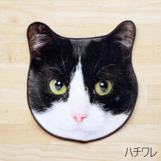 REALISTIC MOTIF TOWEL CAT/リアルモチーフタオル ハンドタオル ハチワレ