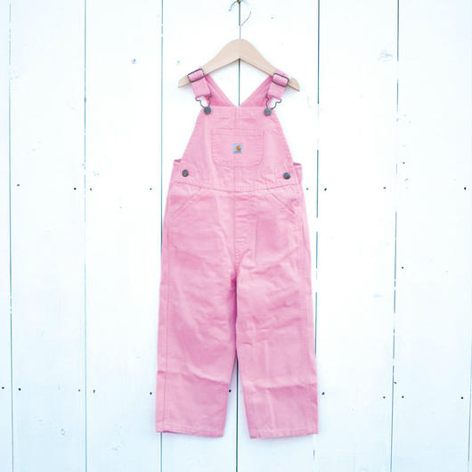 CARHARTT KIDS CANVAS OVERALL PINK / カーハート キッズ キャンバス オーバーオール ピンク