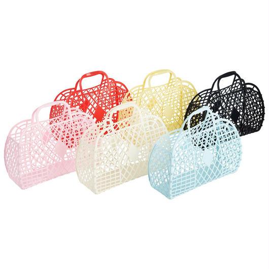 Sun Jellies Retro Basket - L / サン・ジェリーズ  レトロバスケット ラージ