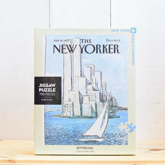 "New York Puzzle Company The New Yorker ""Setting Sail""750pc/ザ・ニューヨーカー ジグソーパズル 750ピース"