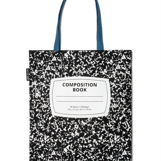Out of Print Composition Book Tote Bag / アウトオブプリント コンポジション ノートブック トートバッグ