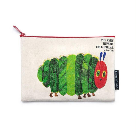 Out of Print The Very Hungry Caterpillar Canvas Pouch / アウトオブプリント はらぺこあおむし キャンバスポーチ