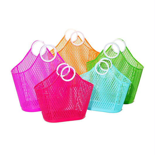 Sun Jellies Fiesta Shopper Tote Bag - S / サン・ジェリーズ  フィエスタ ショッパー トートバッグ スモール