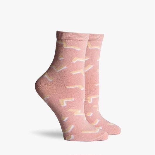 RICHER POORER WOMEN'S ANKLE SOCKS ''KASSI'' PINK / リッチャープアラー レディース アンクルソックス 靴下