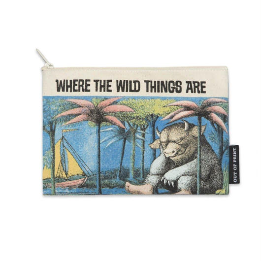 Out of Print Where てぇWild Things Are Canvas Pouch / アウトオブプリント かいじゅうたちのいるところ キャンバスポーチ
