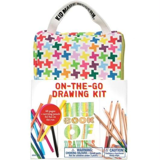 KID MADE MODERN ON-THE-GO DRAWING KIT / キッドメイドモダン ドローイングキット お絵かきセット