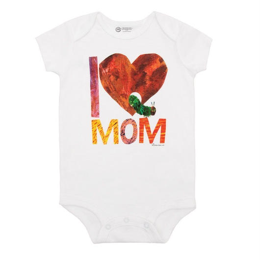 Out of Print The Very Hungry Caterpillar I♡MOM Bodysuit / アウトオブプリント はらぺこあおむし I♡MOM ロンパース