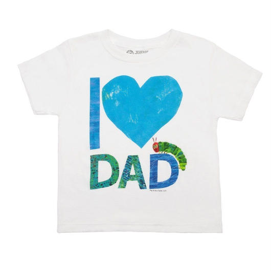 Out of Print The Very Hungry Caterpillar I♡DAD Kids T-Shirts / アウトオブプリント はらぺこあおむし I♡DAD キッズ Tシャツ