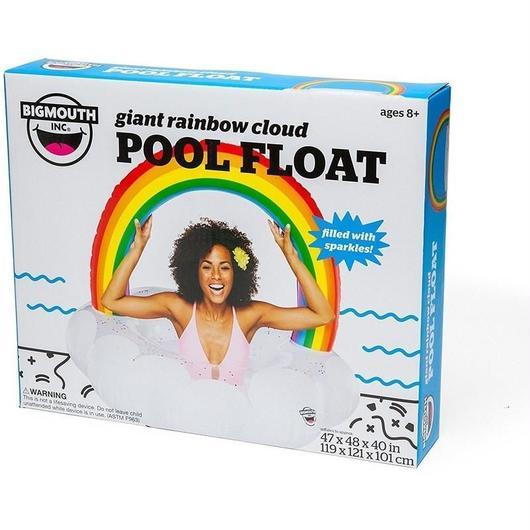 BIGMOUTH INC GIANT RAINBOW CLOUD POOL FLOAT / ビッグマウス ジャイアント レインボー クラウド プールフロート