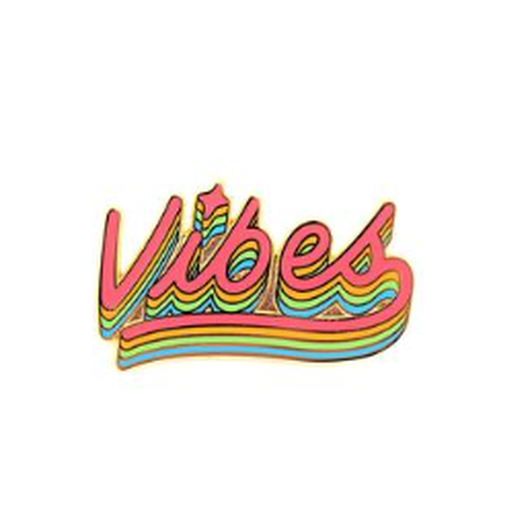 VALLEY CRUISE ENAMEL PIN VIBES/バレークルーズ エナメルピン バイブス