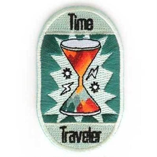 MOKUYOBI IRON ON PATCH ''TIME TRAVELER'' / モクヨウビ アイロンパッチ ワッペン