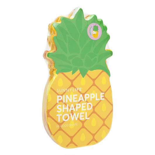 SUNNYLIFE Shaped Towel Pineapple / サニーライフ ビーチタオル パイナップル
