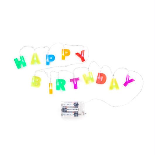 KIKKERLAND HAPPY BIRTHDAY STIRNG LIGHT / キッカーランド ハッピーバースデー ストリングライト