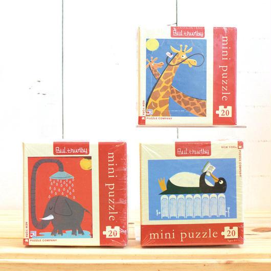 """New York Puzzle Company Mini Series """"20pc/ニューヨークパズルカンパニー ミニシリーズ 20ピース"""