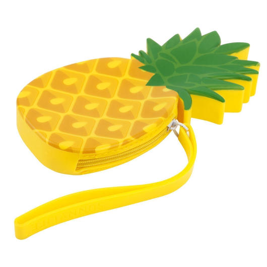SUNNYLIFE Silicone Coin Pouch Pineapple / サニーライフ シリコン コインポーチ パイナップル