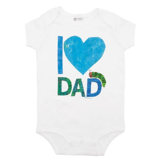 Out of Print The Very Hungry Caterpillar I♡DAD Bodysuit / アウトオブプリント はらぺこあおむし I♡DAD ロンパース
