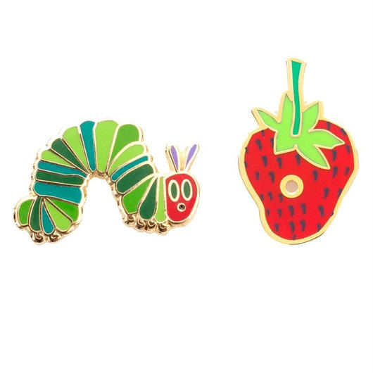 Out of Print The Vary Hungry Caterpillar Pins Set / アウトオブプリント はらぺこあおむし ピンズ 2個セット