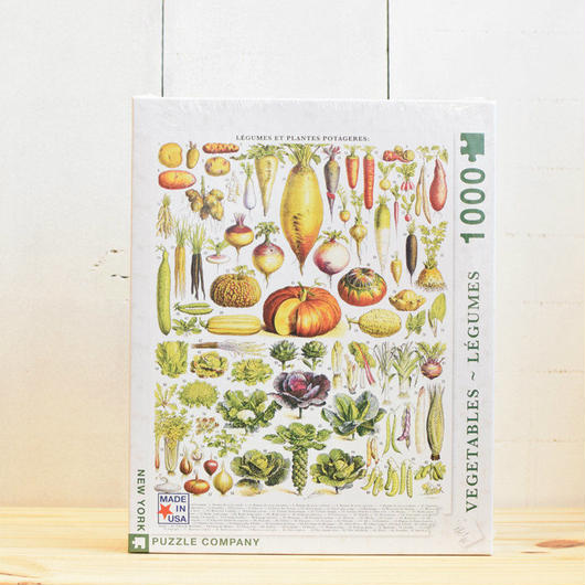 "New York Puzzle Company Nature Series ""Vegetables""1000pc/ニューヨークパズルカンパニー ネイチャーシリーズ ベジタブル 1000ピース"