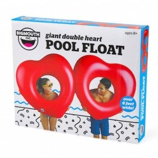BIGMOUTH INC GIANT DOUBLE HEART POOL FLOAT / ビッグマウス ジャイアント ダブル ハート プールフロート