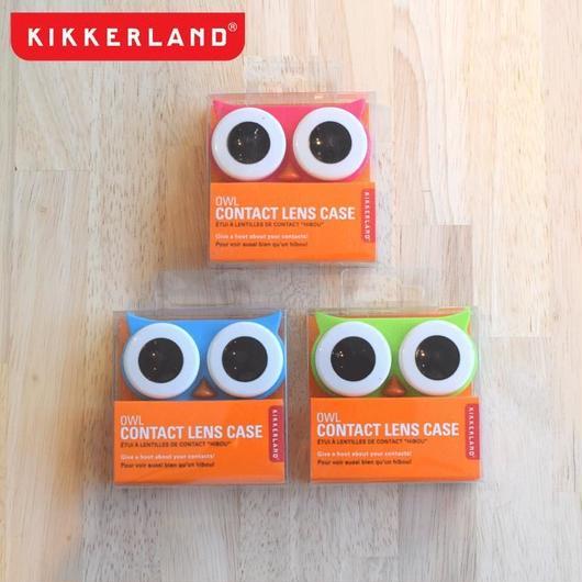 KIKKERLAND CONTACT LENS CASE OWL / キッカーランド コンタクトレンズケース フクロウ