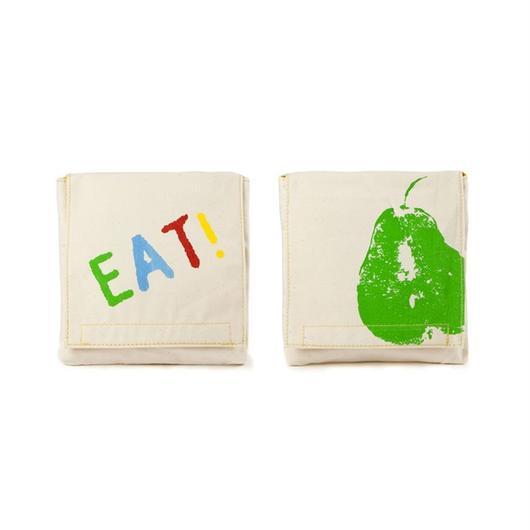 FLUF SNUCK PACK GOOD EATS (Set of 2) / フラフ  スナックパック ポーチ  2個セット