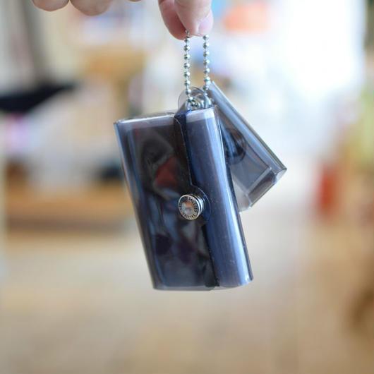 SALLIES MINIMAL WALLET ''Pocket Pal'' BLACK / サリーズ ミニマルウォレット PVC 財布 コインケース ブラック