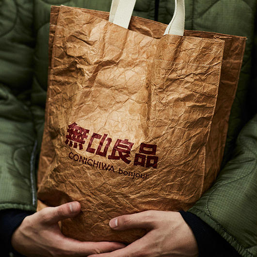 CONICHIWA bonjour  PAPER BAG