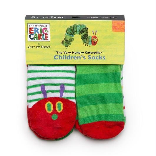 Out of Print The Very Hungry Caterpillar 4pc Baby Socks / アウトオブプリント はらぺこあおむし ベビー ソックス 4足セット