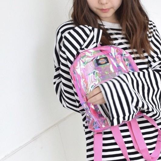 DICKIES MINI CLEAR BACKPACK PINK / ディッキーズ ミニ クリア バックパック  ピンク