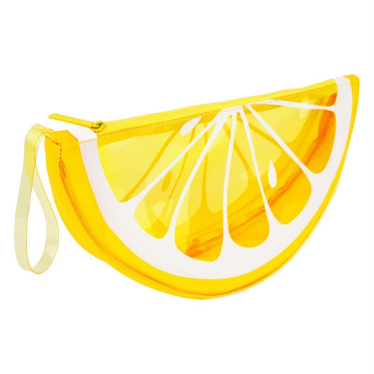 SUNNYLIFE See Thru Clutch Bag Lemon / サニーライフ シースルー クラッチバッグ レモン